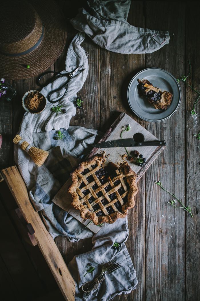 Huckleberry Pie by Eva Kosmas Flores