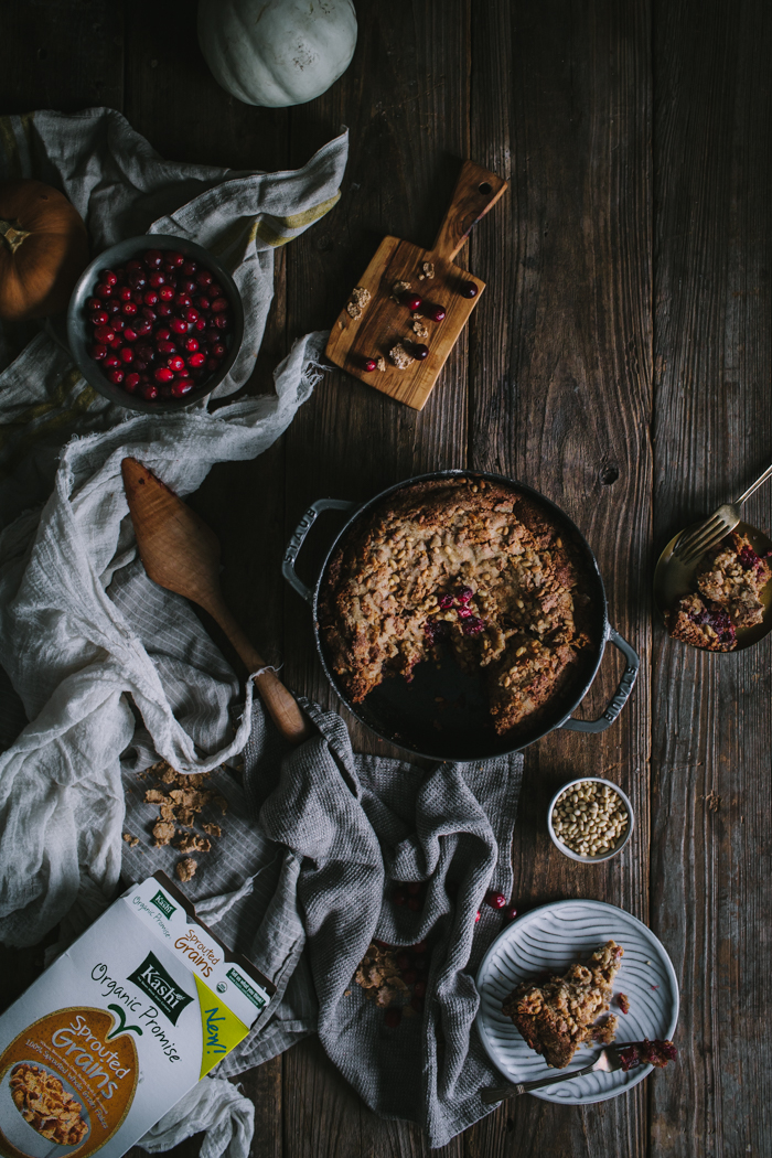 Cranberry Coffee Cake by Eva Kosmas Flores | Adventures in Cooking