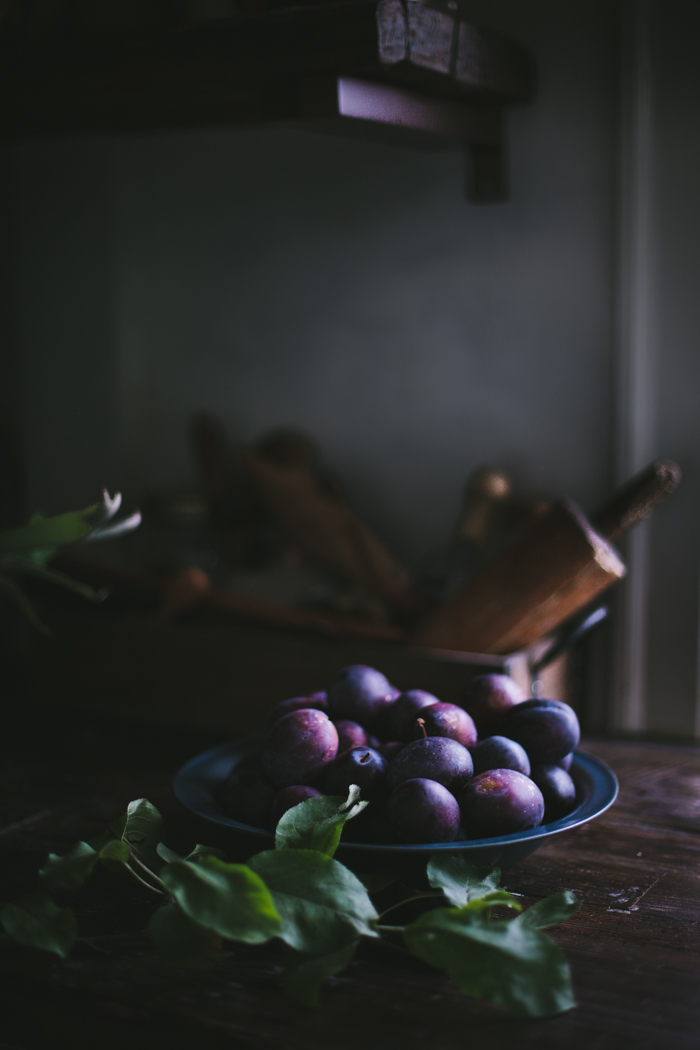 Pluot Pie for One by Eva Kosmas Flores | Adventures in Cooking