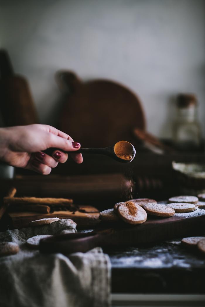 Chai Shortbread Cookies by Eva Kosmas Flores | Adventures in Cooking