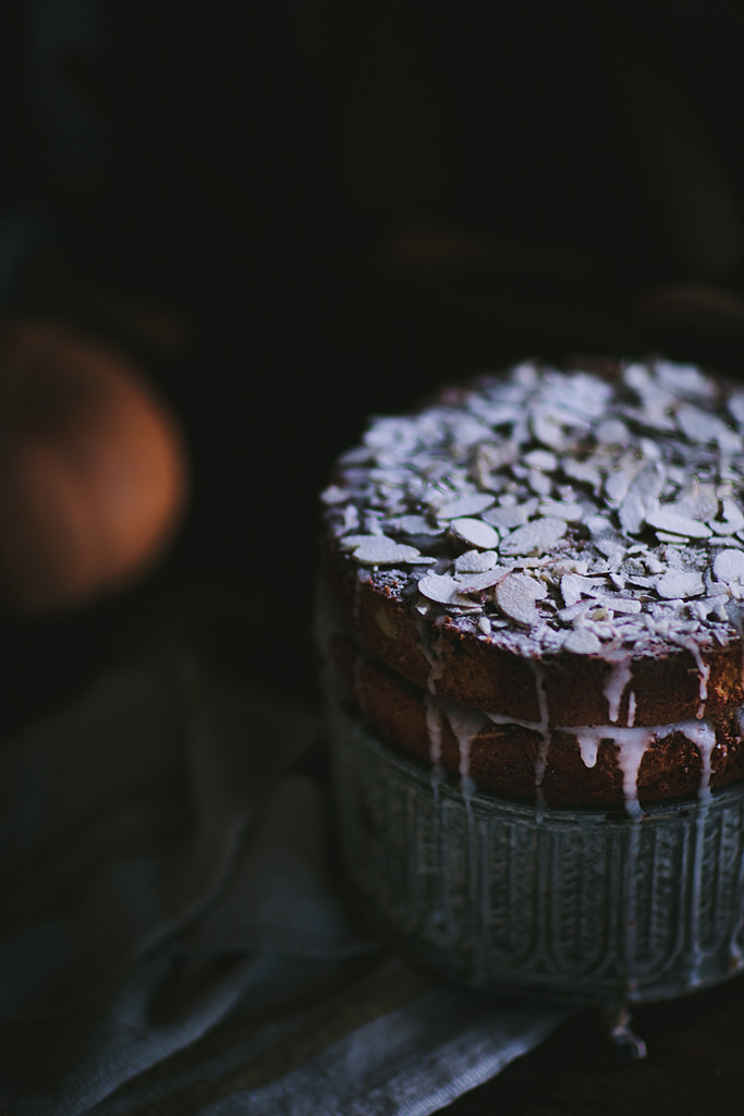 Autumn Oat, Pumpkin, & Almond Cake by Eva Kosmas Flores | Adventures in Cooking