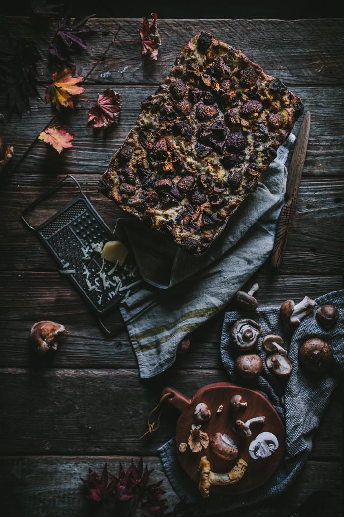 Mushroom Lasagna by Eva Kosmas Flores of Adventures in Cooking