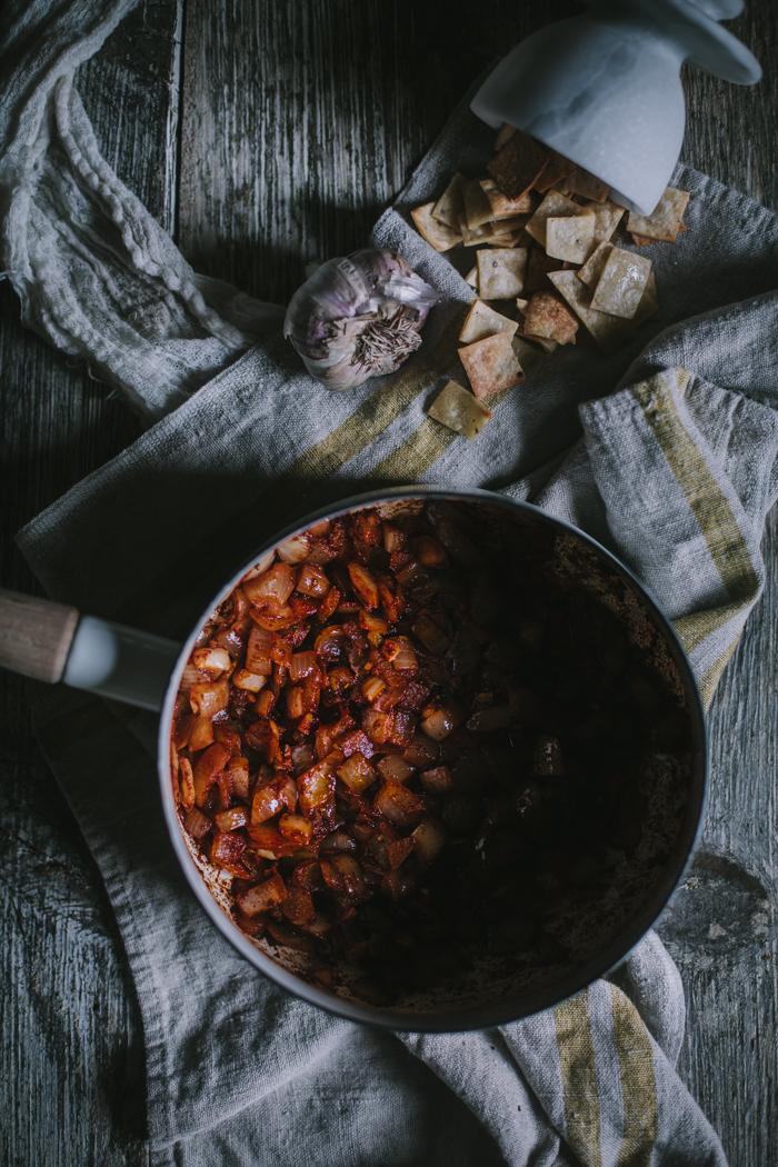 Tortilla Soup by Eva Kosmas Flores | Adventures in Cooking