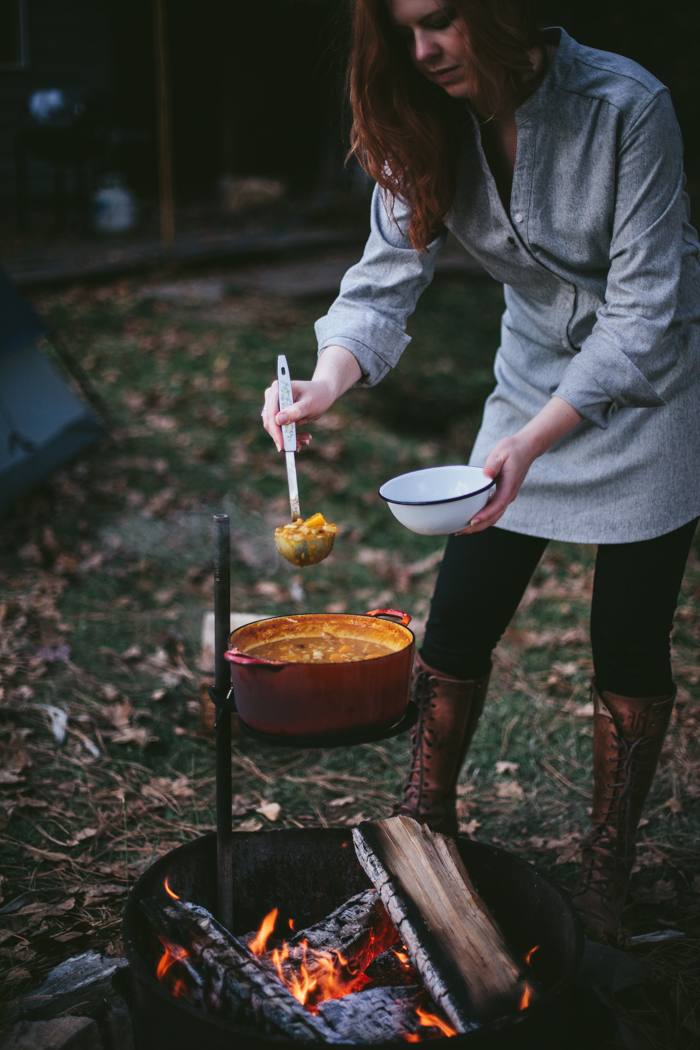 Butternut Chili by Eva Kosmas Flores | Adventures in Cooking