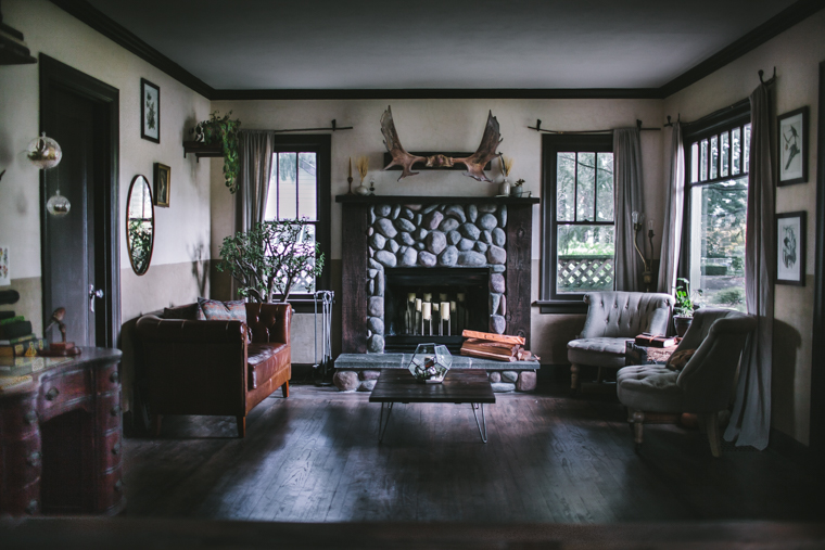 Living Room Remodel by Eva Kosmas Flores | Adventures in Cooking