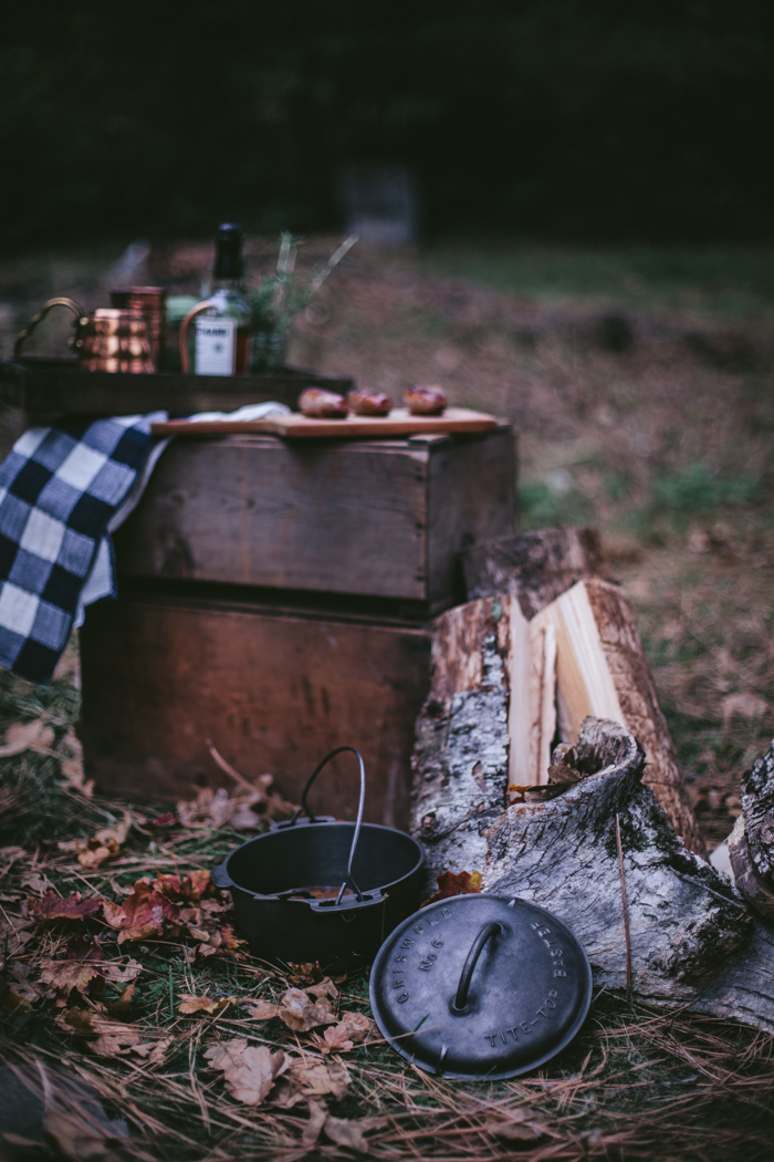 Autumn Camping by Eva Kosmas Flores | Adventures in Cooking