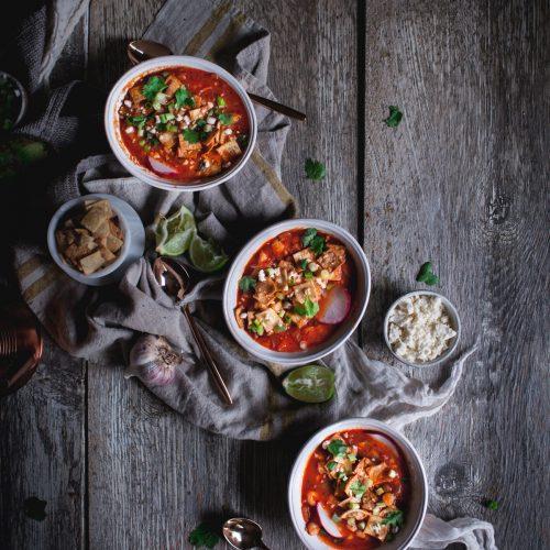 Tortilla Soup by Eva Kosmas Flores