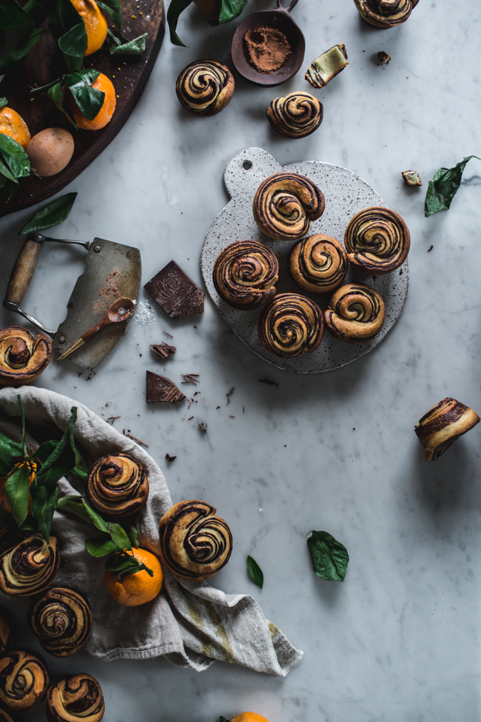 Citrus + Chocolate Brioche by Eva Kosmas Flores | Adventures in Cooking
