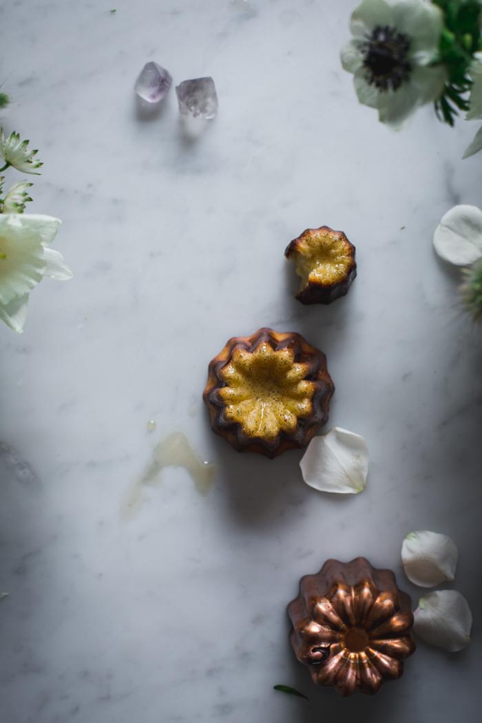 Orange Blossom Canelés + Selva Floral