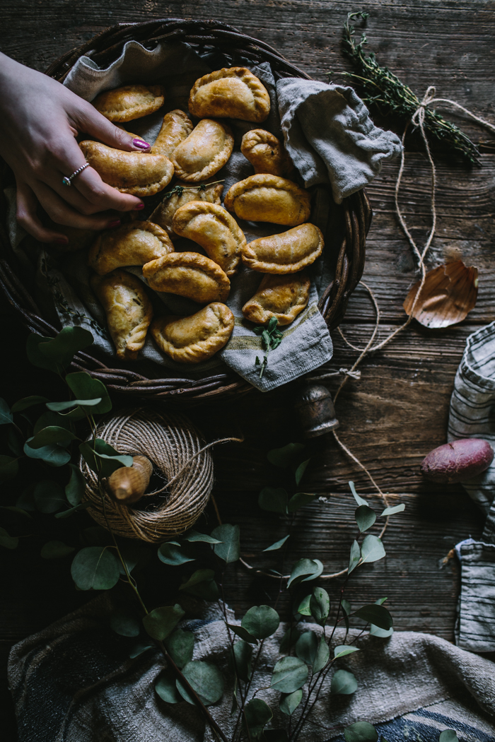 Root Vegetable & Feta Empanadas by Eva Kosmas Flores | Adventures in Cooking