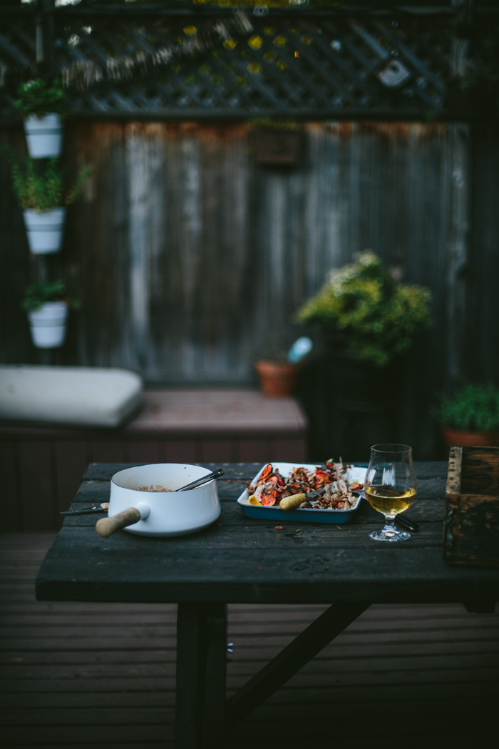 Quick and Easy Ember Grilled Lobster Tails with Shallot Butter Broth by Eva Kosmas Flores