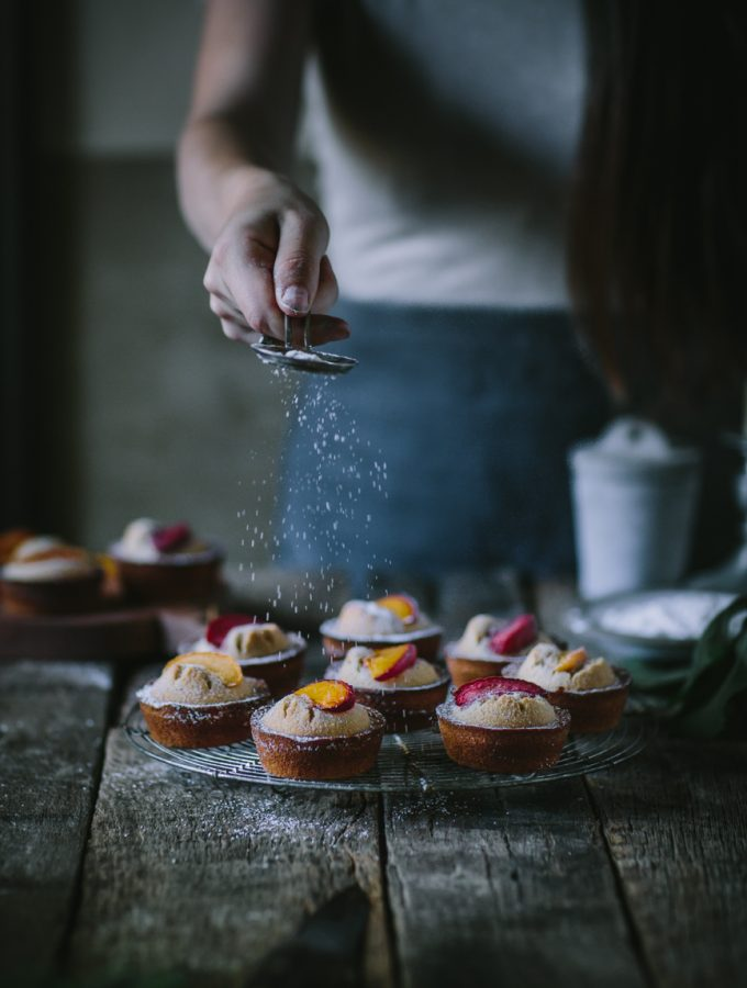 Pluot Financiers + A Cookbook