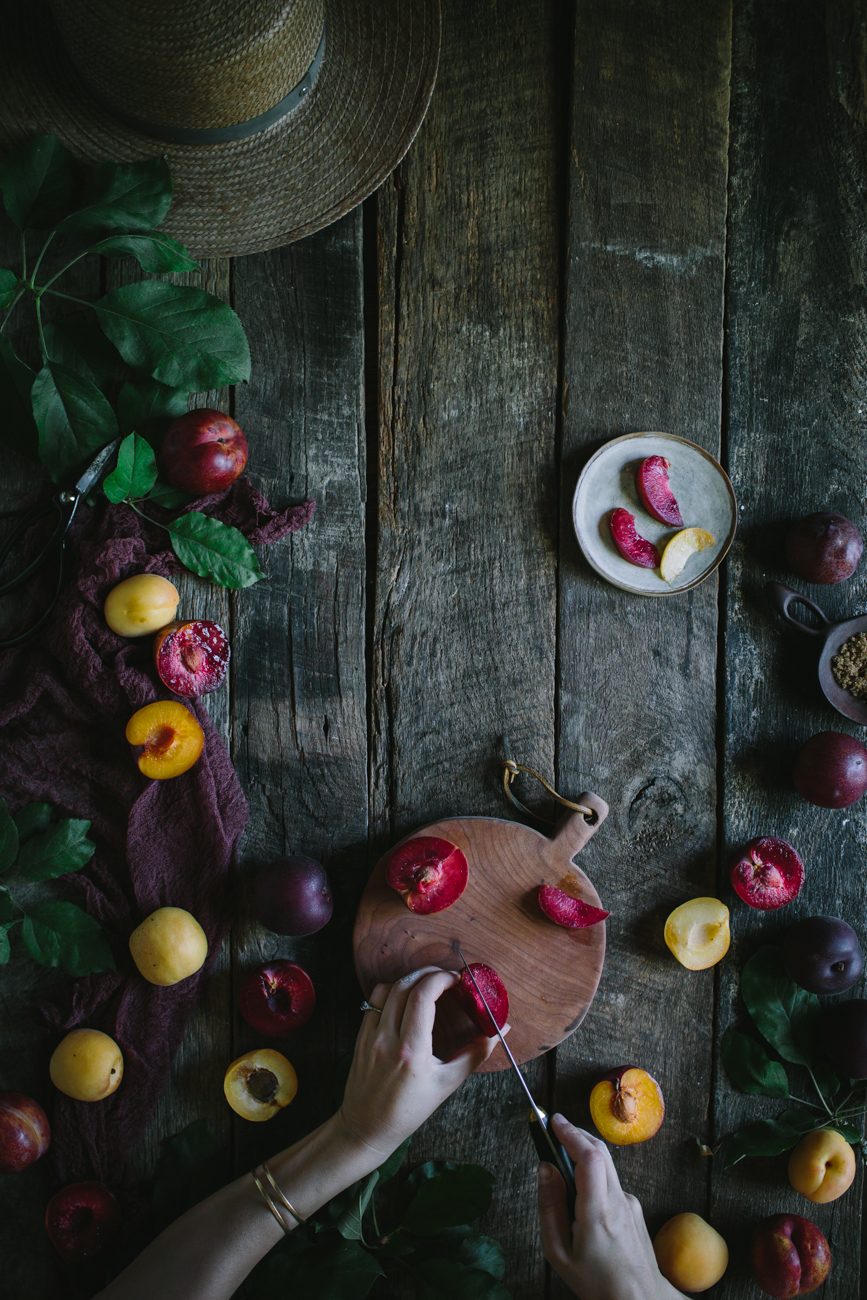 Pluot Financiers by Eva Kosmas Flores