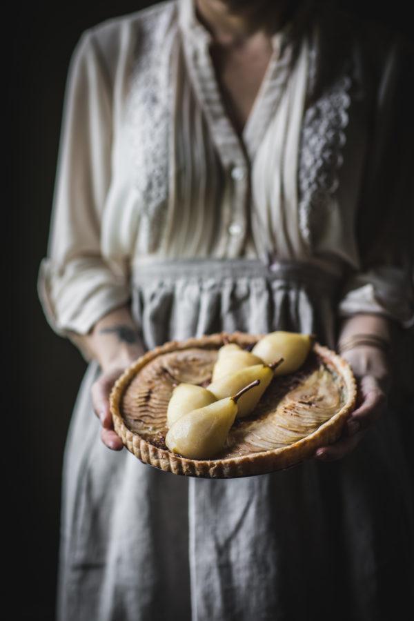 Pear Tart by Eva Kosmas Flores