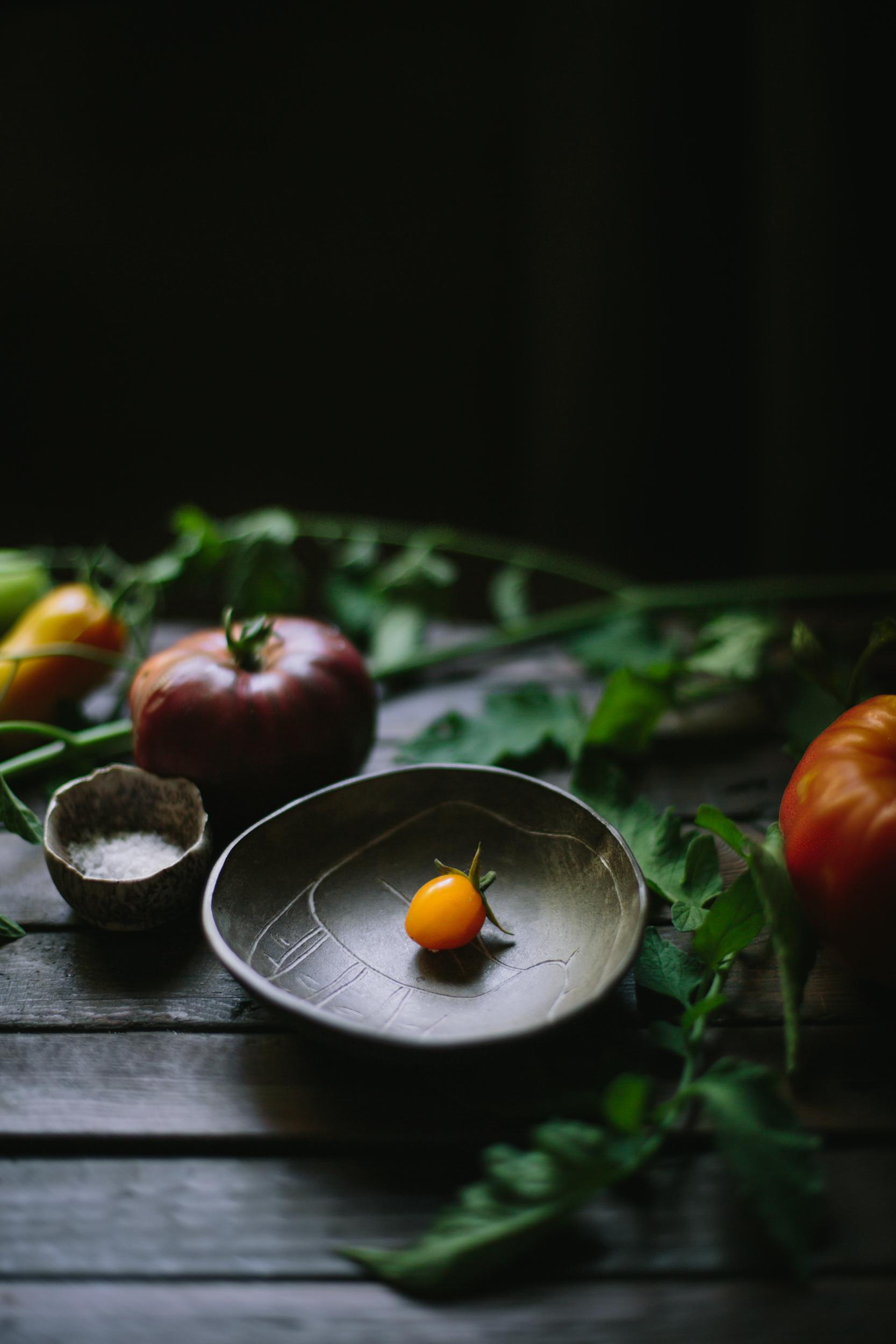 Tomato Chevre Tarte Tatin-4