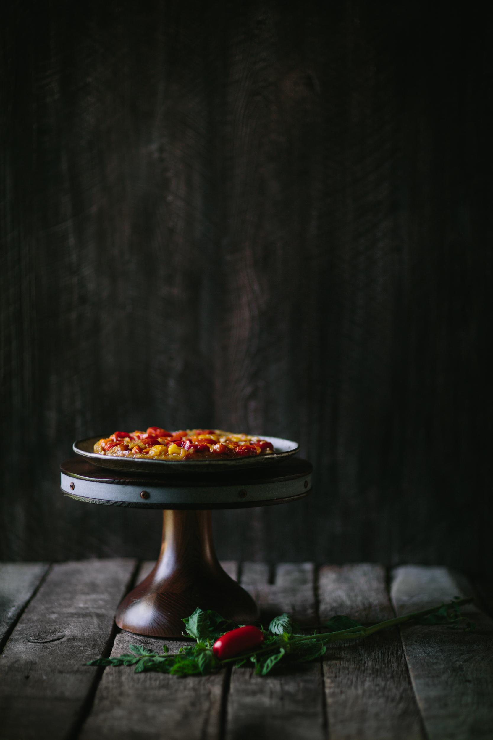 Tomato Chevre Tarte Tatin-5