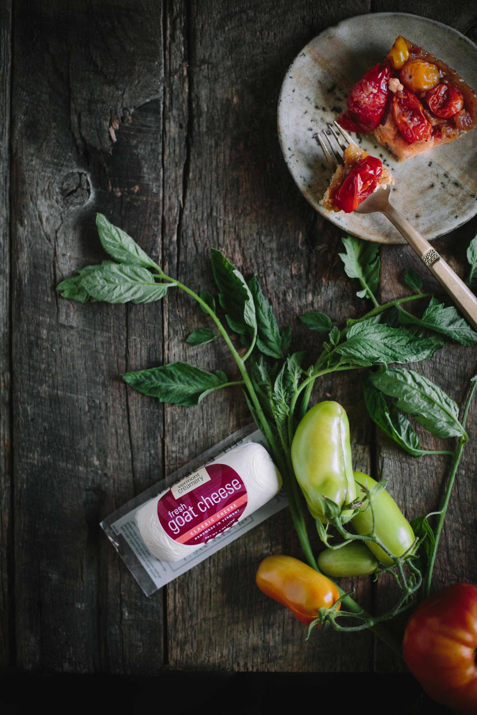 Tomato Chevre Tarte Tatin-7