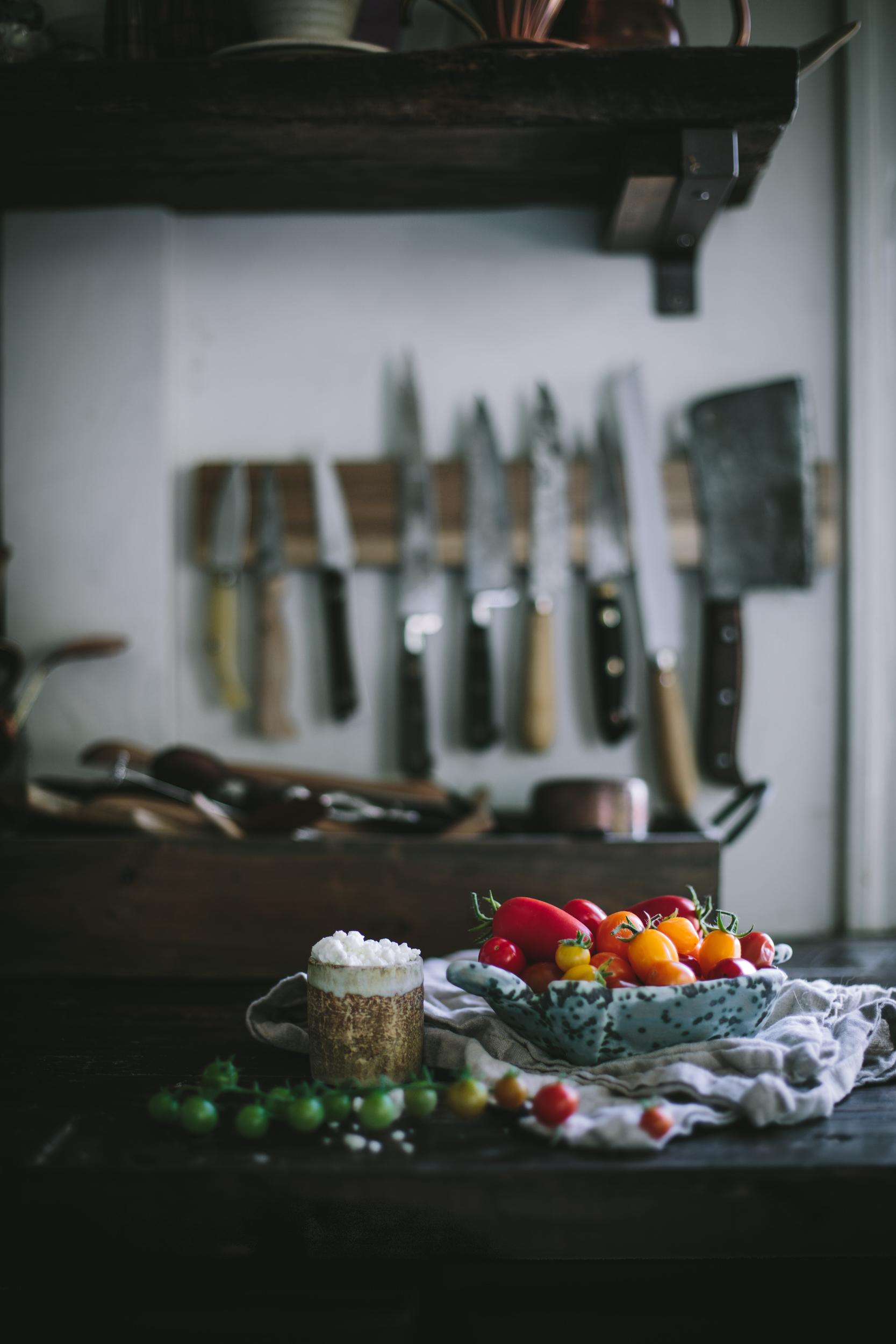 Tomato Chevre Tarte Tatin