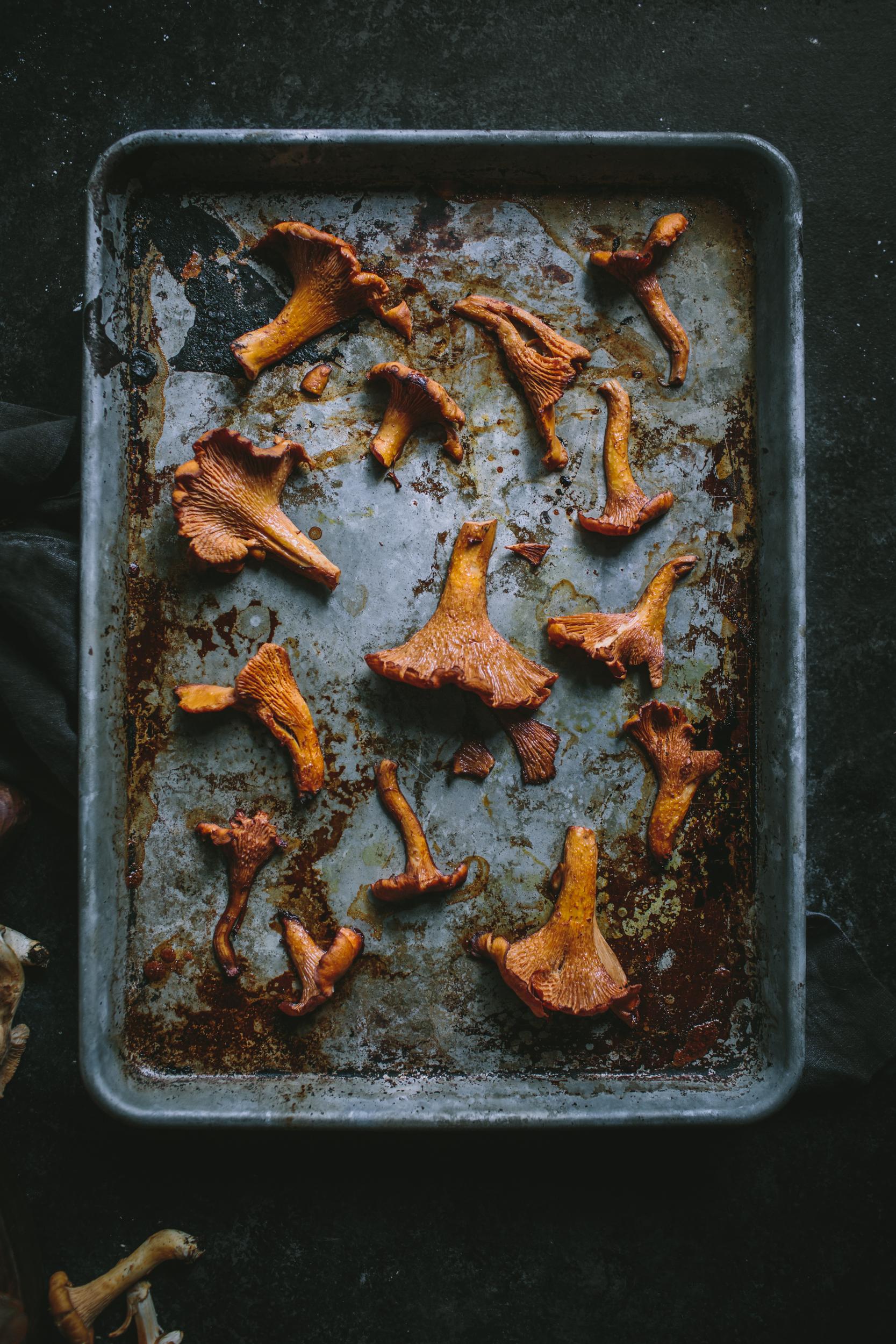 Roasted Chanterelles by Eva Kosmas Flores   Adventures in Cooking