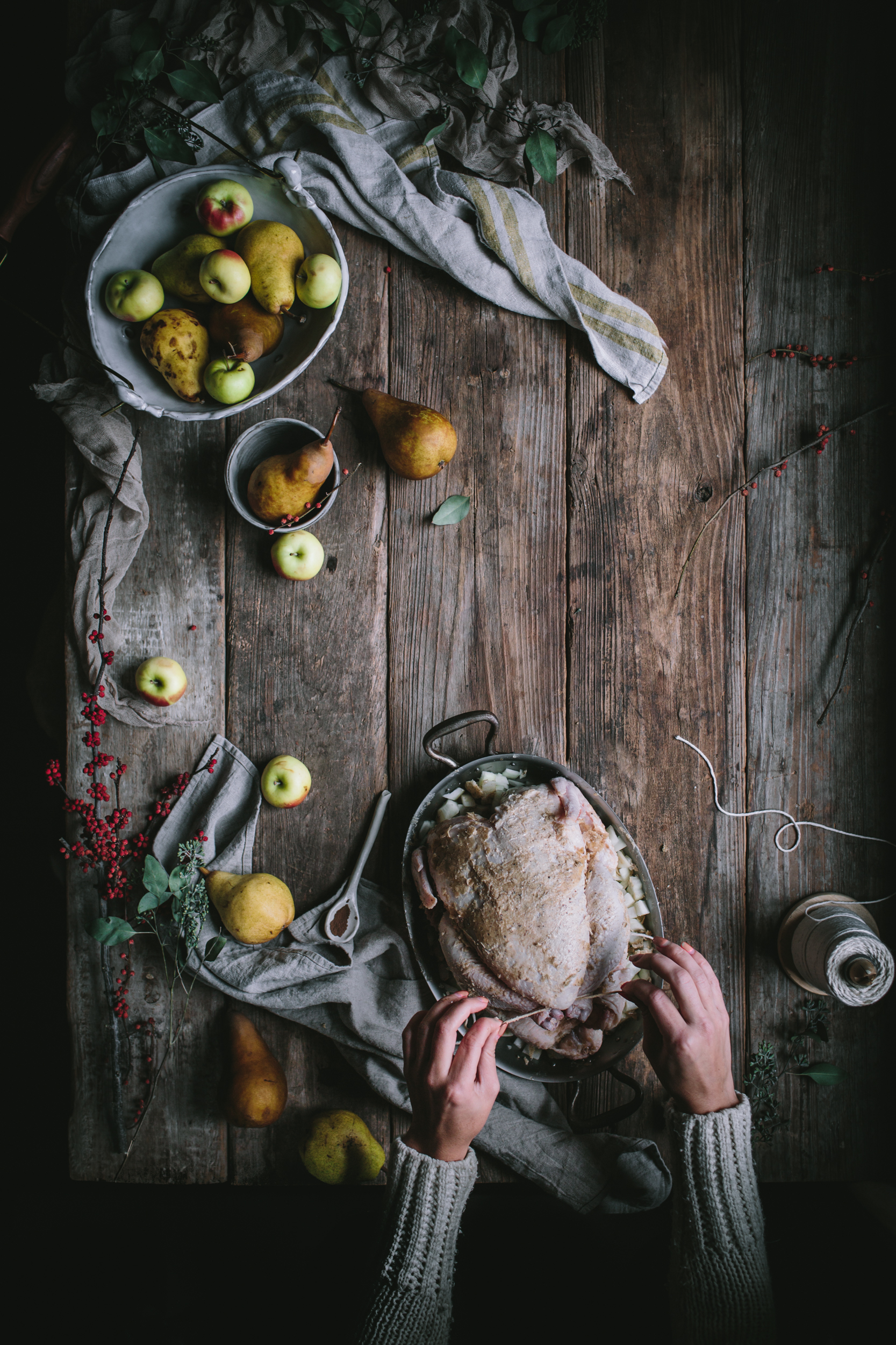 Vanilla Bean Brown Butter Roast Chicken by Eva Kosmas Flores | Adventures in Cooking