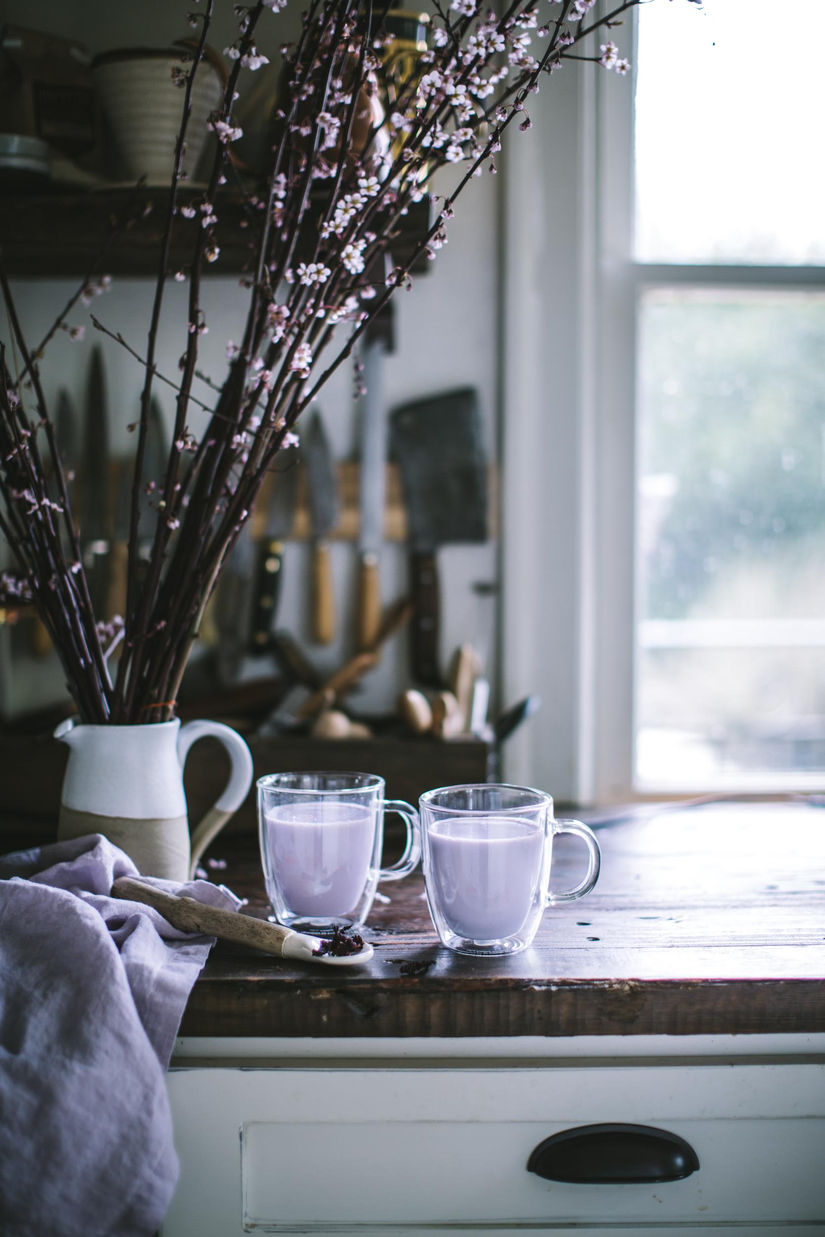 Hibiscus Vanilla Latte Adventures In Cooking