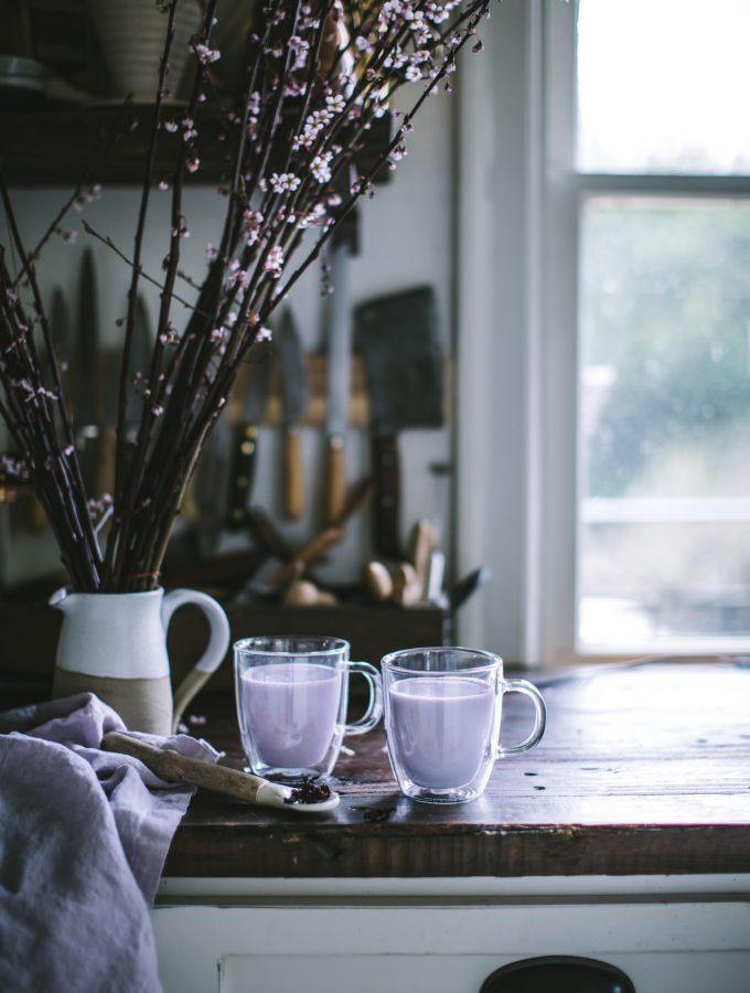 Hibiscus Vanilla Latte
