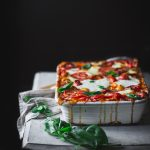 Easy Sweet Pepper Lasagna by Eva Kos mas Flores | Adventures in Cooking