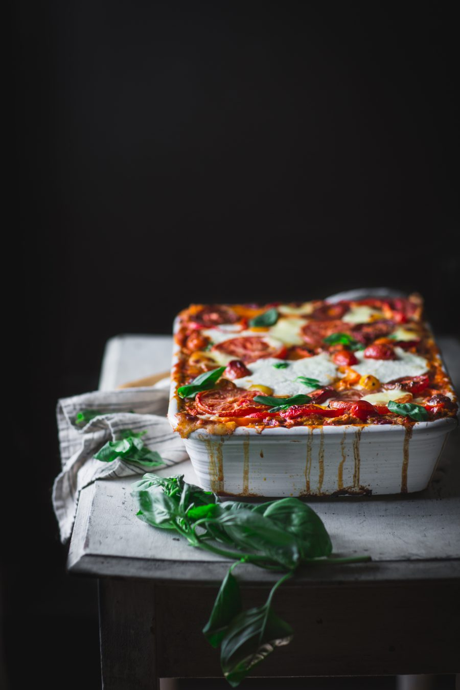 Easy Sweet Bell Pepper Lasagna