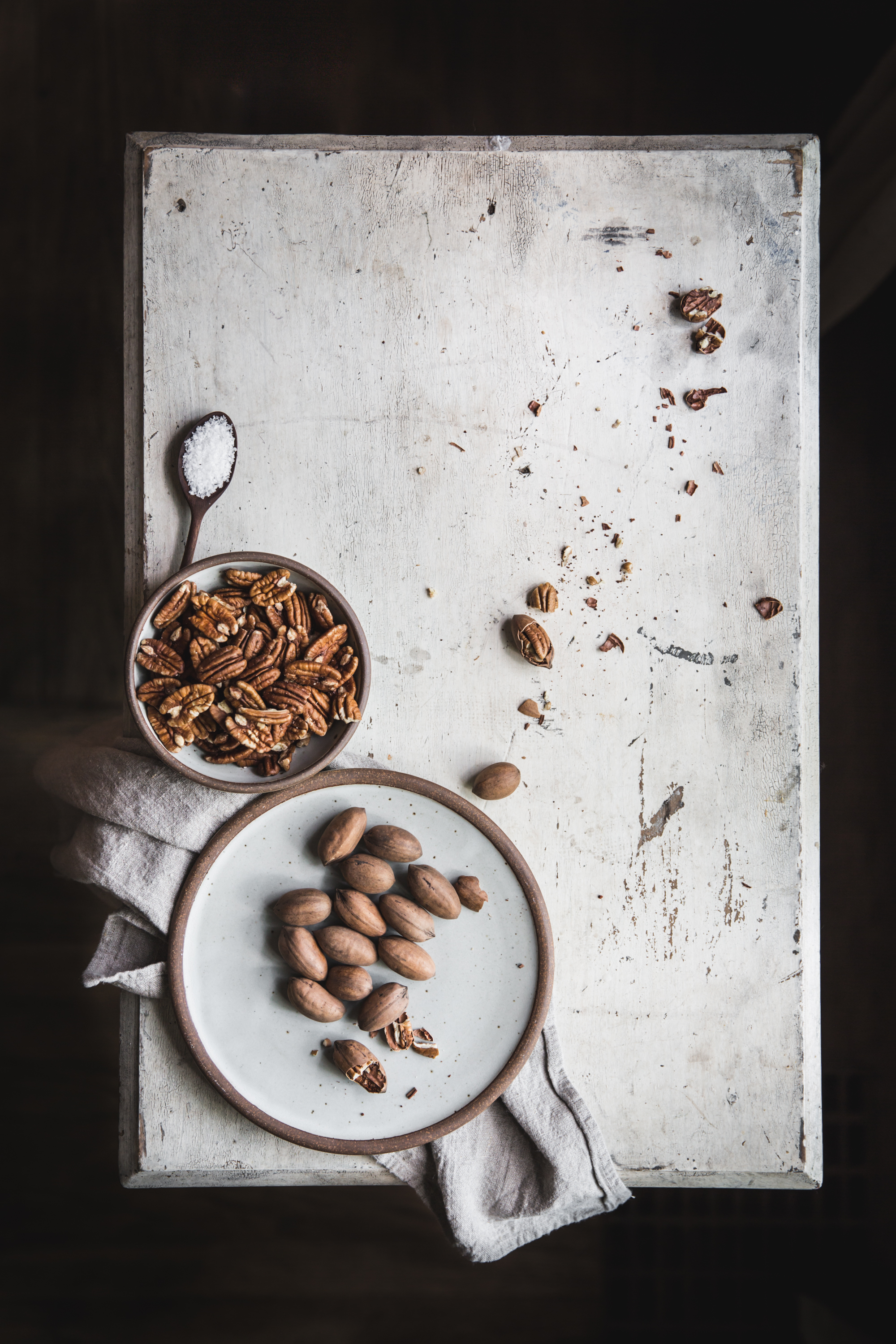 Savory Pecan and Rosemary Granola Bars with Honey, Dates, and Coconut by Eva Kosmas Flores of Adventures in Cooking