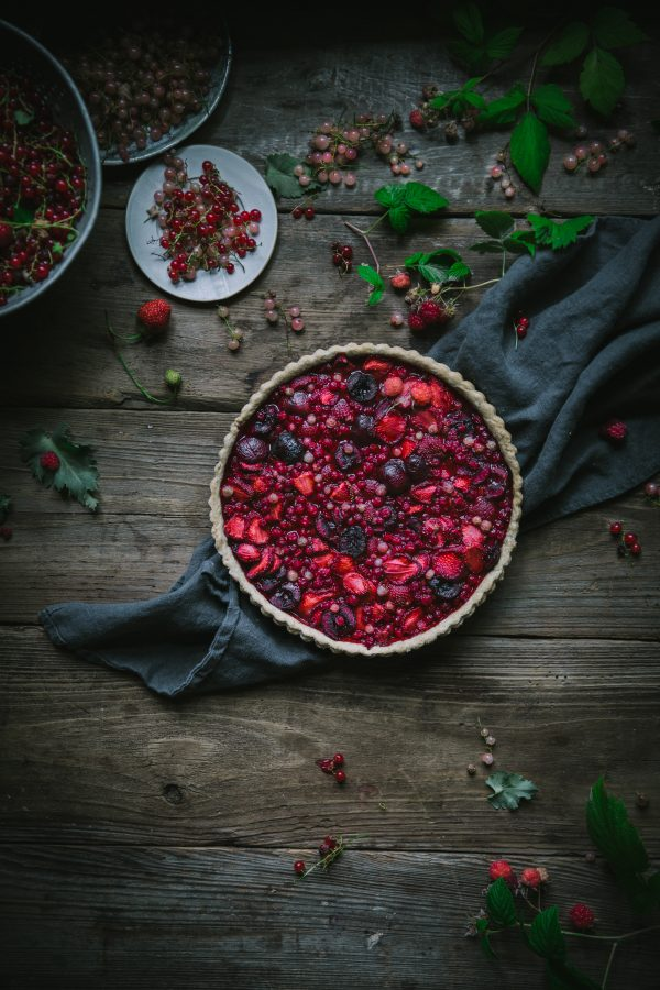 Summer Berry Tart Crust Recipe by Eva Kosmas Flores
