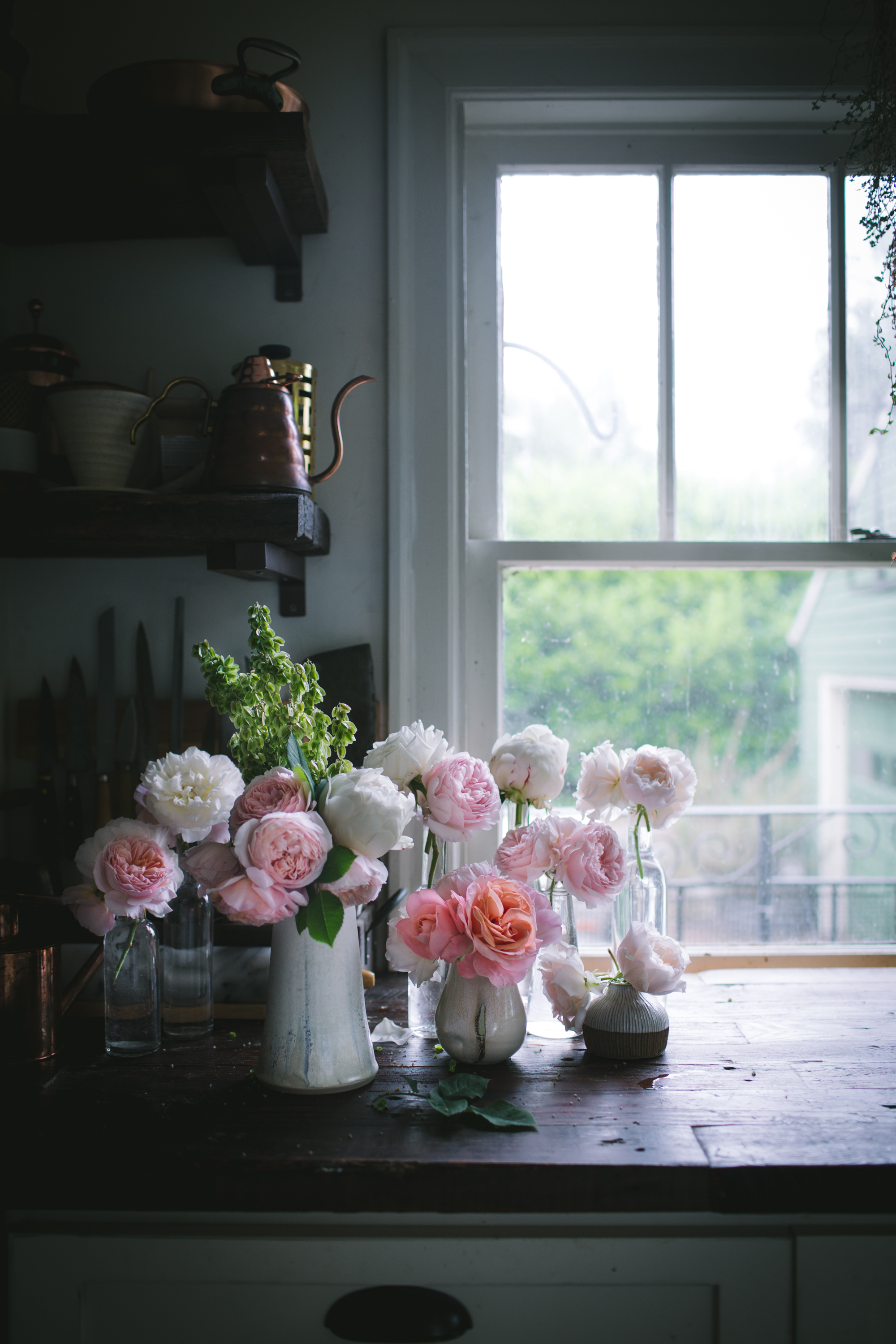 David Austin Roses by Eva Kosmas Flores of Adventures in Cooking