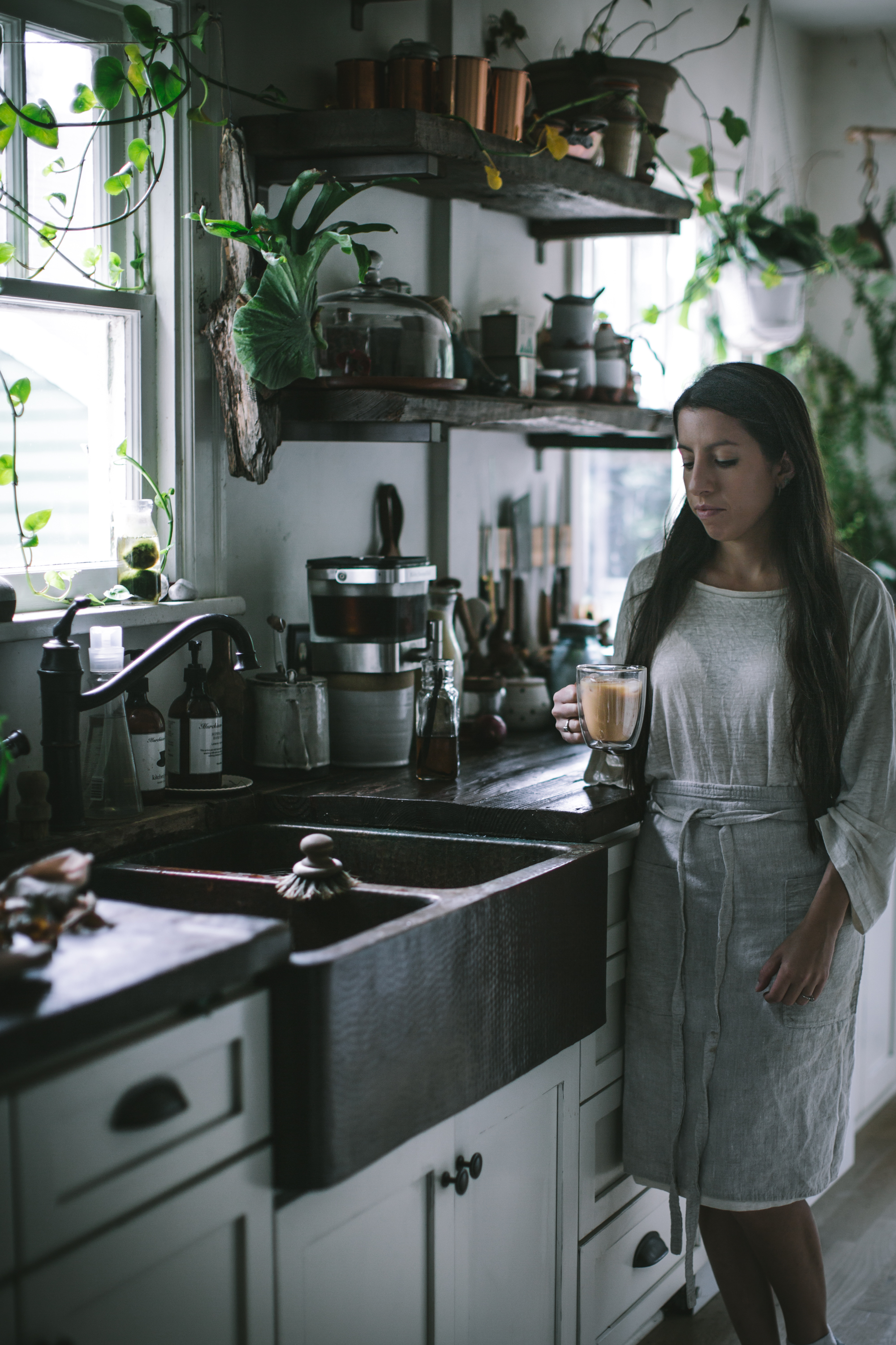 Homemade Iced Vanilla Latte by Eva Kosmas Flores