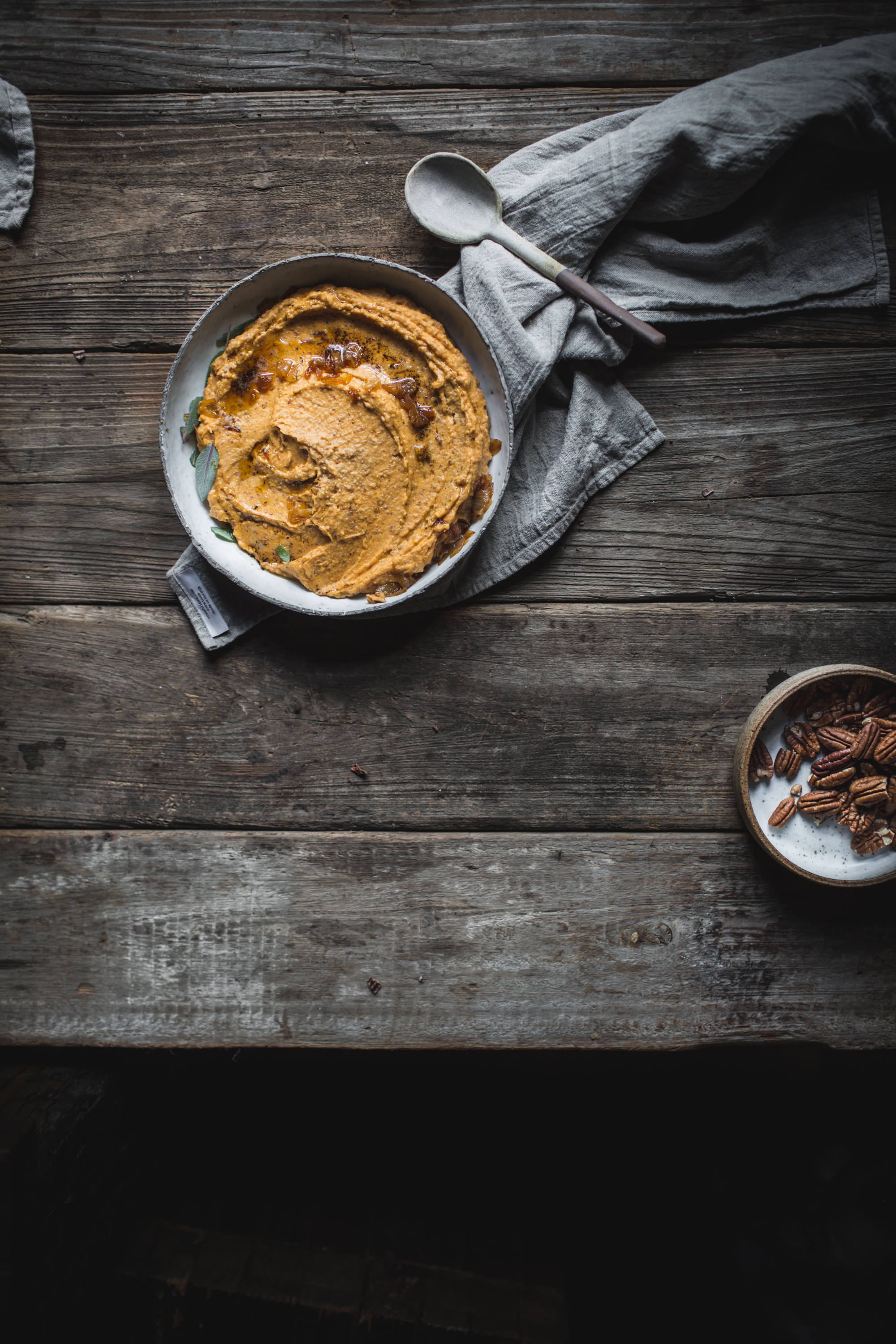 Sweet Potato Pecan Puree by Eva Kosmas Flores
