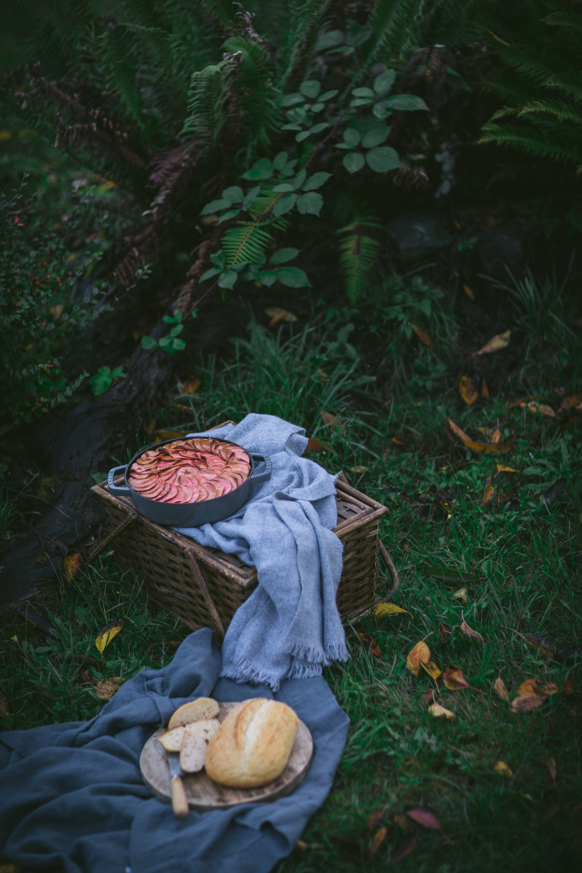 Apple Raisin Pecan Bread Pudding With Salted Caramel Drizzle With La Brea Bakery by Eva Kosmas Flores