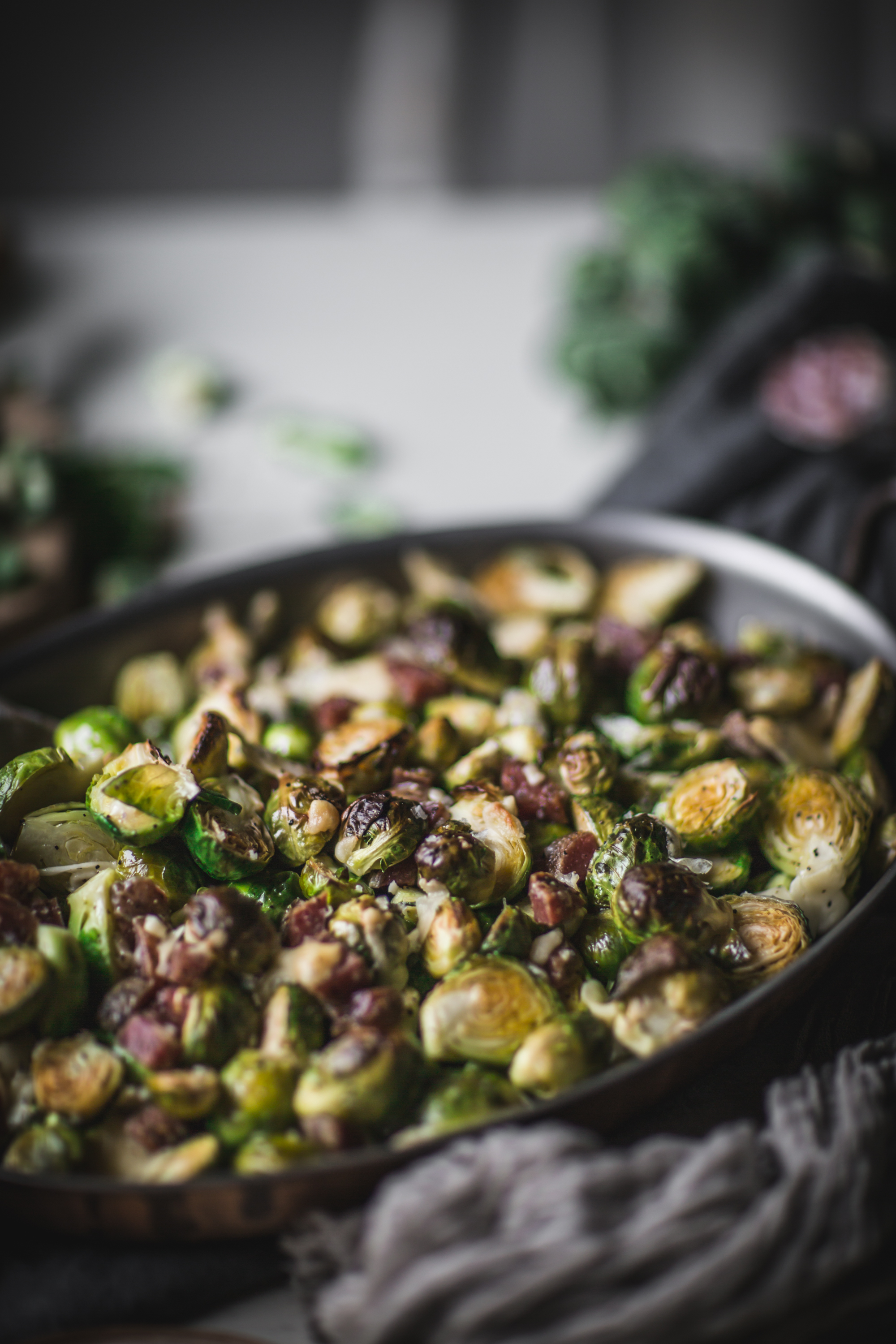 How to Make Roasted Brussel Sprouts by Eva Kosmas Flores