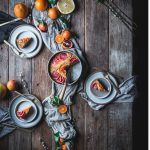 Blood Orange Buckle Dessert Winter Citrus Recipe