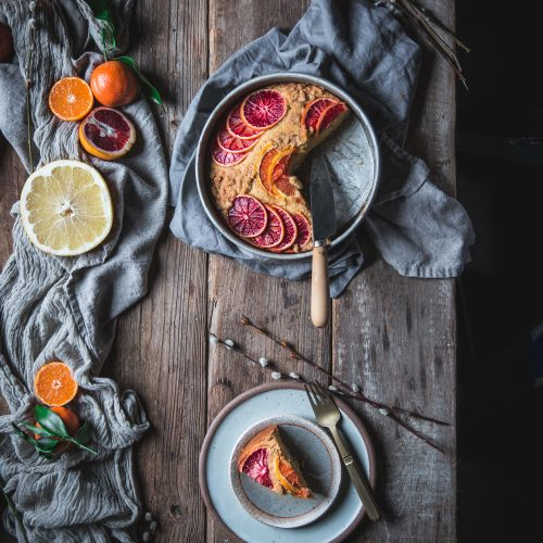 Blood Orange Buckle Dessert Winter Citrus Recipe