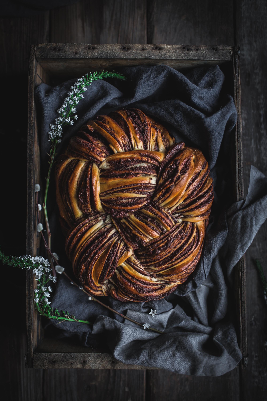 Woven Chocolate Cinnamon Bread by Eva Kosmas Flores