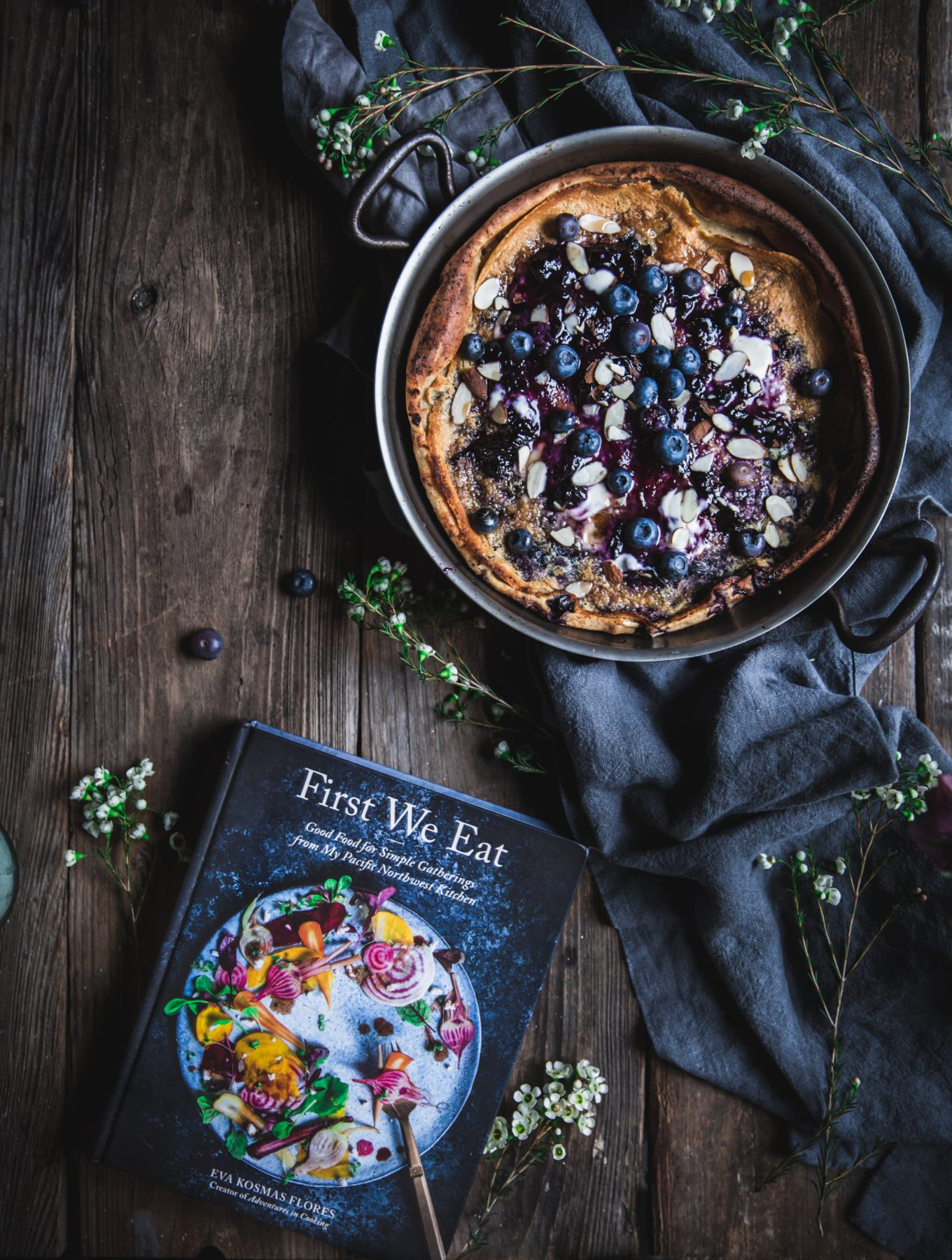 First We Eat Cookbook + A Blueberry Dutch Baby
