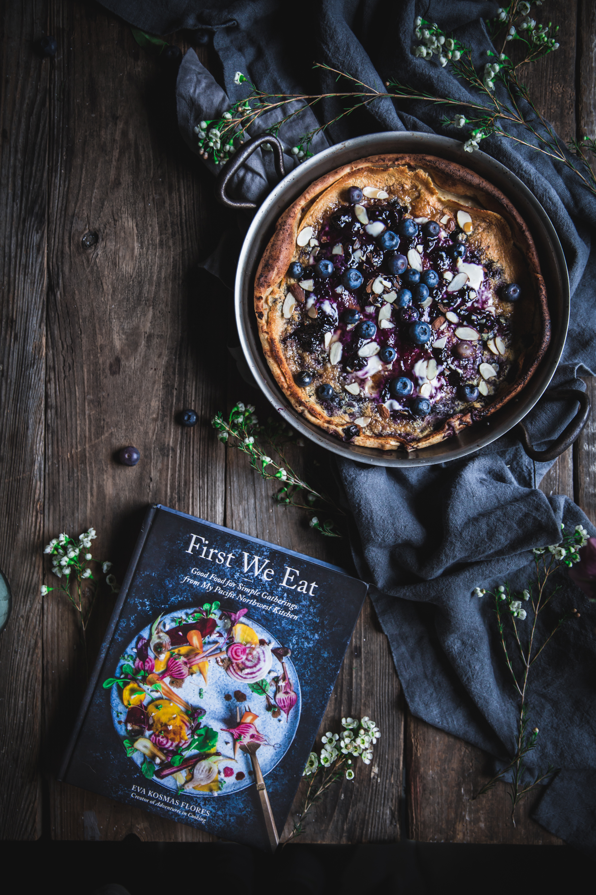 First we eat cookbook a blueberry dutch baby adventures in cooking blueberry dutch baby from the cookbook first we eat by eva kosmas flores forumfinder Gallery