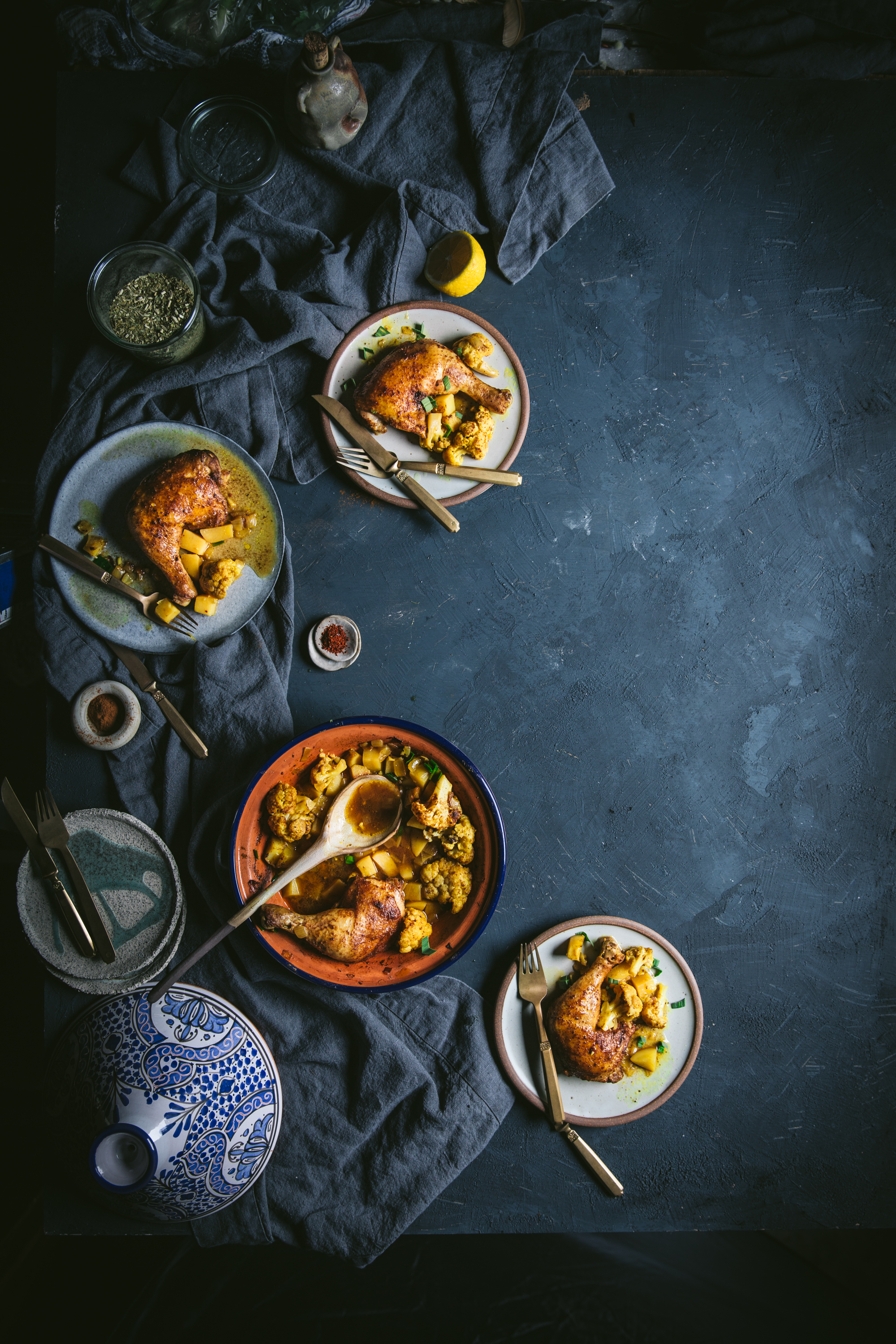 moroccan, chicken, one, pot, meal, recipe