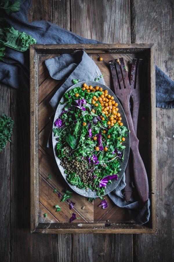 Plant Protein Salad by Eva Kosmas Flores
