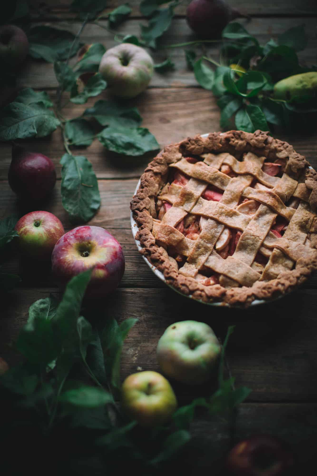 Hazelnut Apple Pie by Eva Kosmas Flores