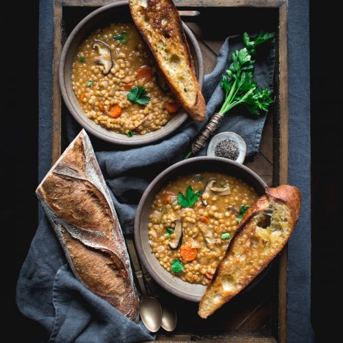 Lentil Soup Recipe by Eva Kosmas Flores