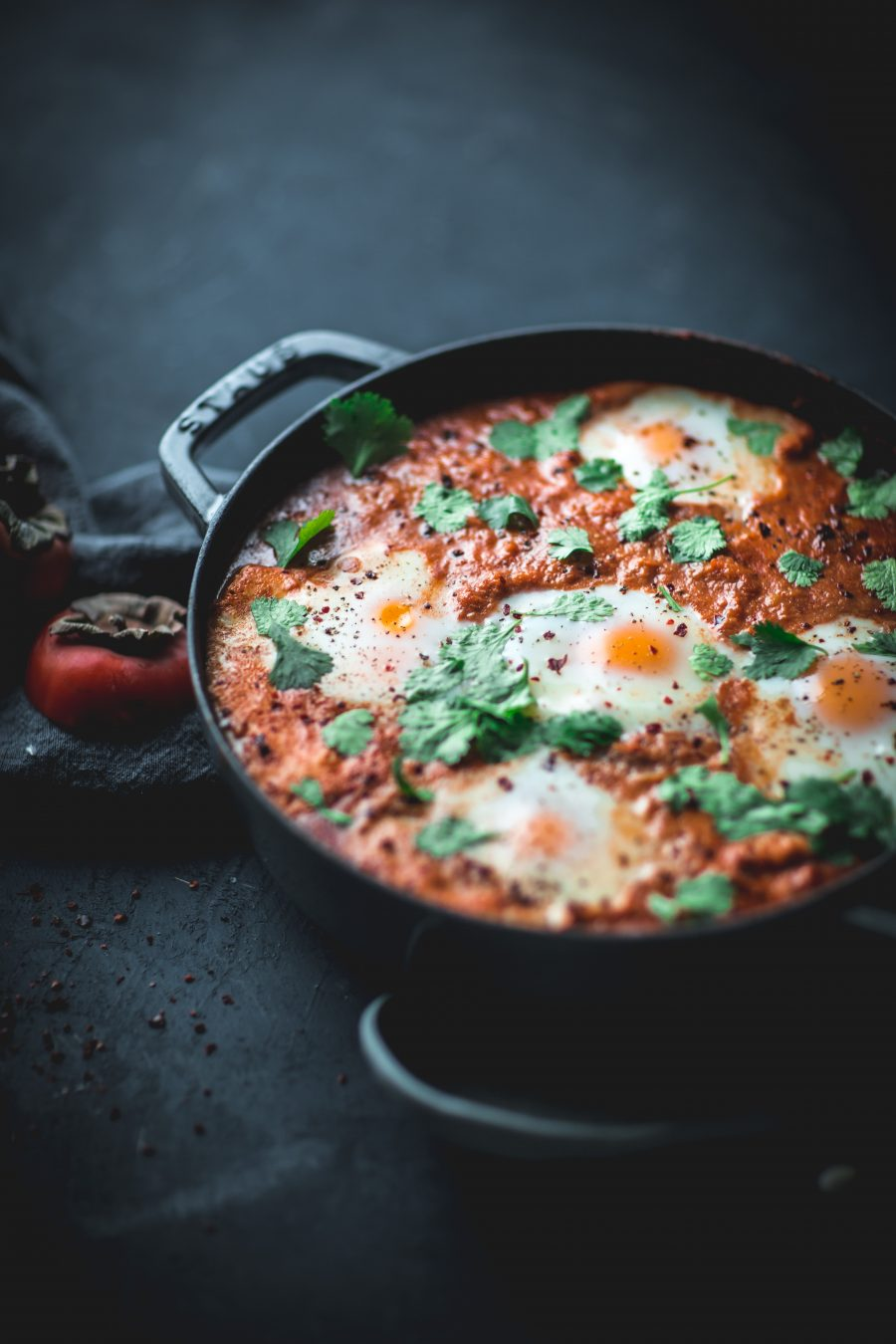 Shakshuka with Persimmon