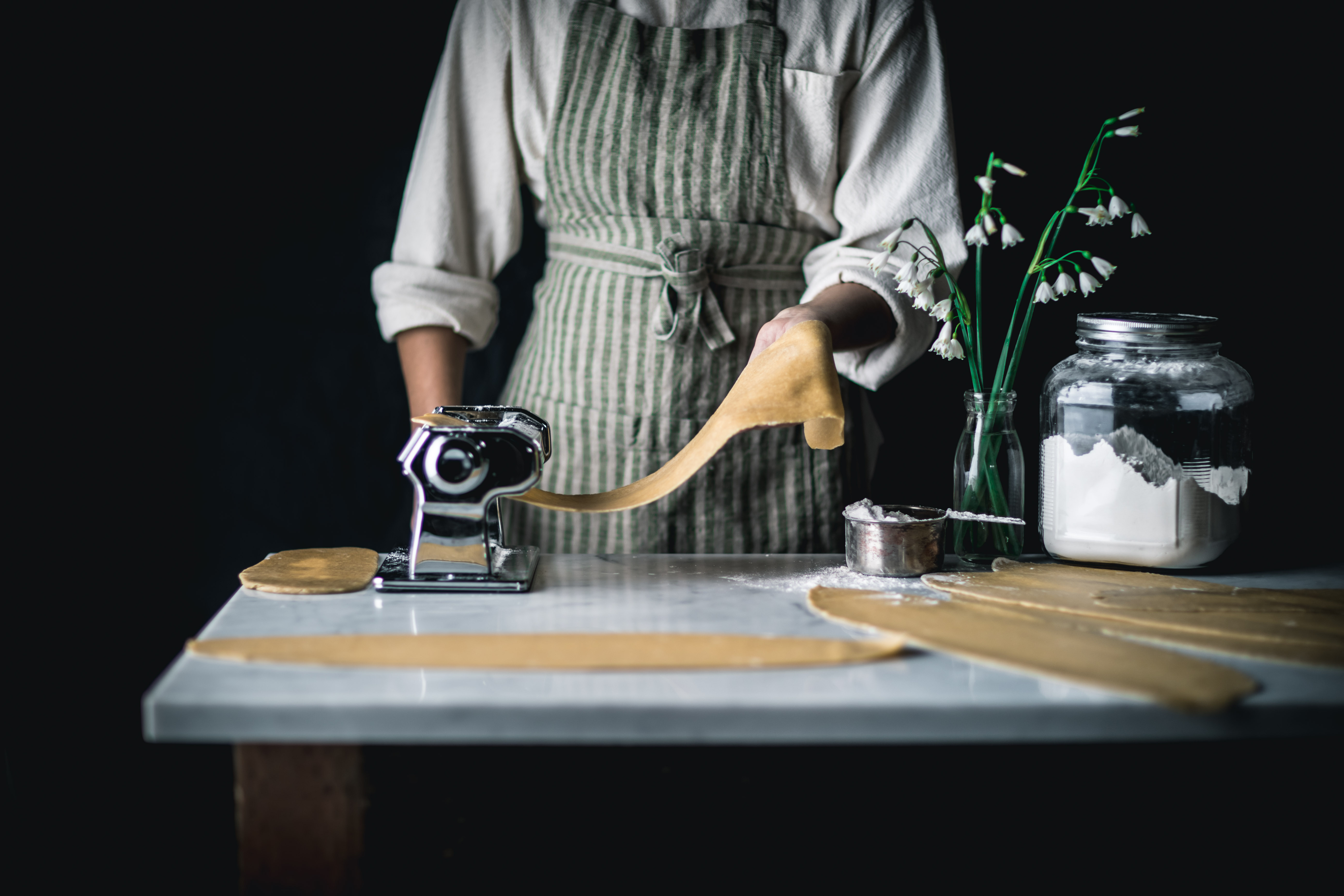 Using a Pasta Press