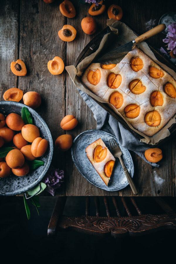 Apricot Yogurt Cake