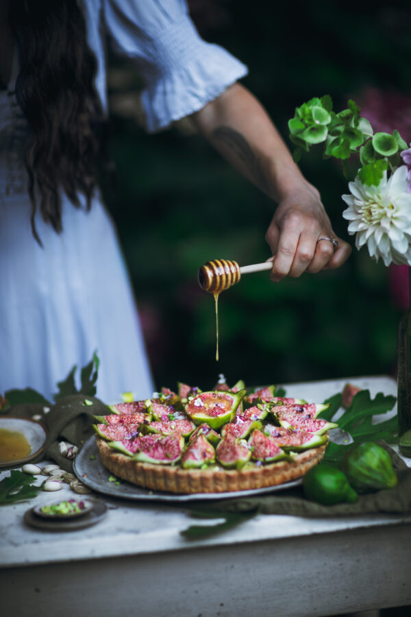 Honey Drizzle Food Photography
