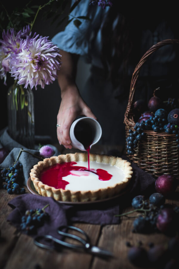 Pouring Grape Juice
