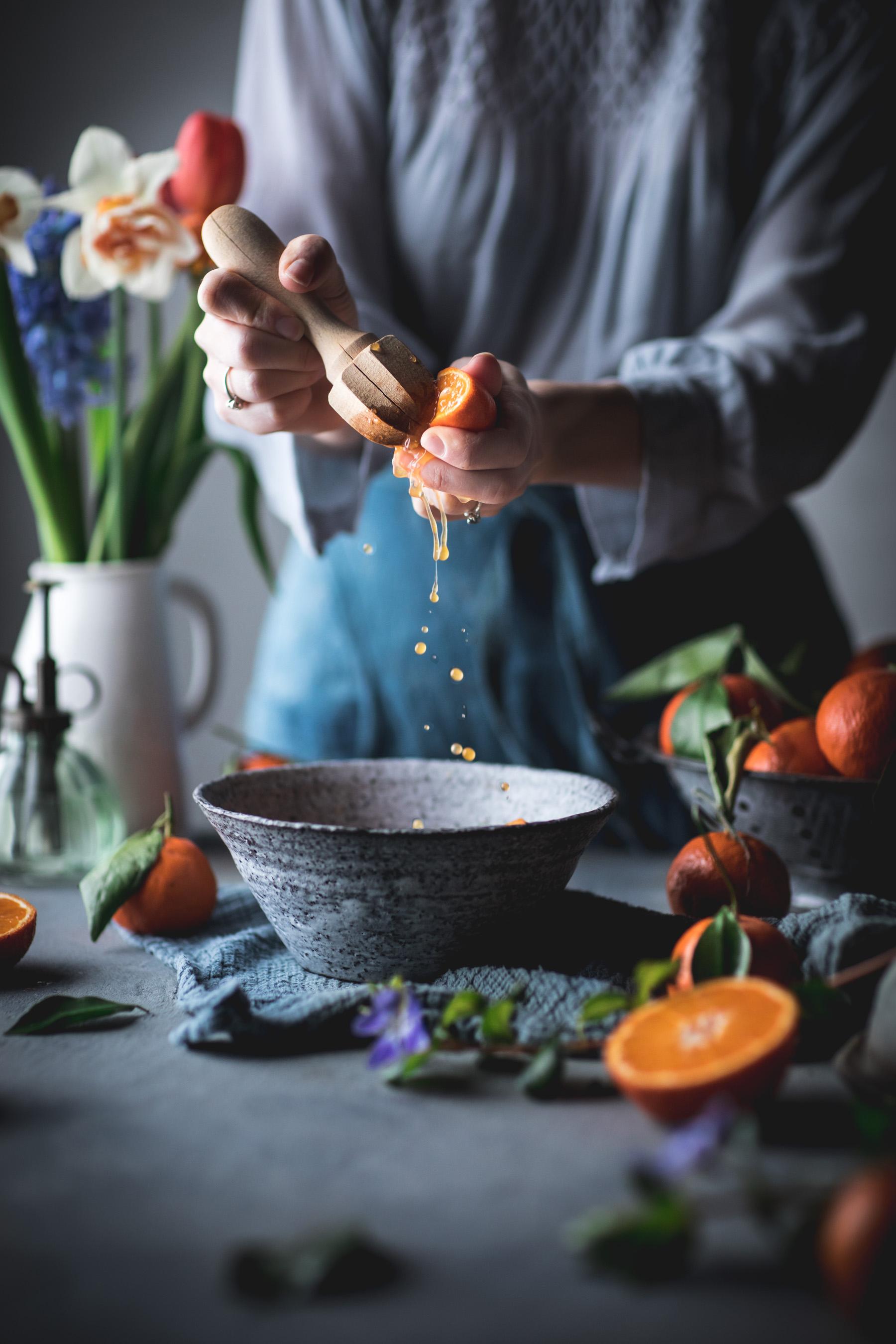 Tangerine Juicing